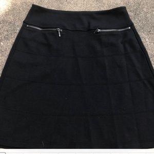 Athleta Black Women Mini Skirt Sz XS Women
